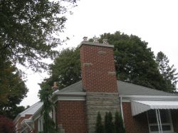 Brick And Stone Chimney